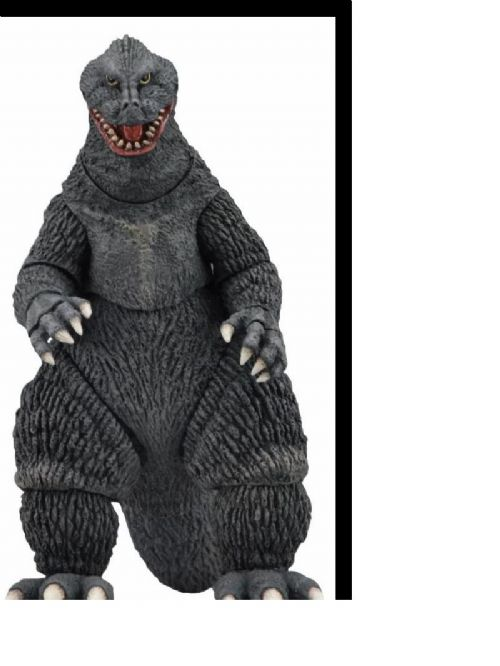 "GODZILLA 12"" HEAD TO TAIL ACTION FIGURE GODZILLA - KING KONG VS. GODZILLA 1962 MOVIE"